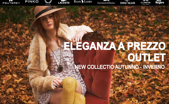 New Collection Autunno/Inverno Outlet Caltanissetta
